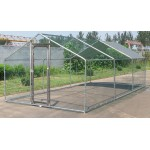 Large Metal 20x10 ft Chicken Coop Backyard Hen House Cage Run Outdoor Cage- New Return AS it is
